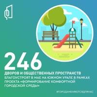 Выбор - за вами! С 26 апреля по 30 мая вы сможете проголосовать за объекты для благоустройства на платформе 74.gorodsreda.ru